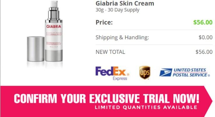 Giabria Serum Free Trial