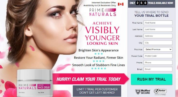 Prime Naturals Face Cream