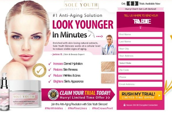 Sole Youthful Skincare Review